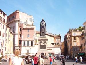 Giordano Bruno på Campo de' Fiori