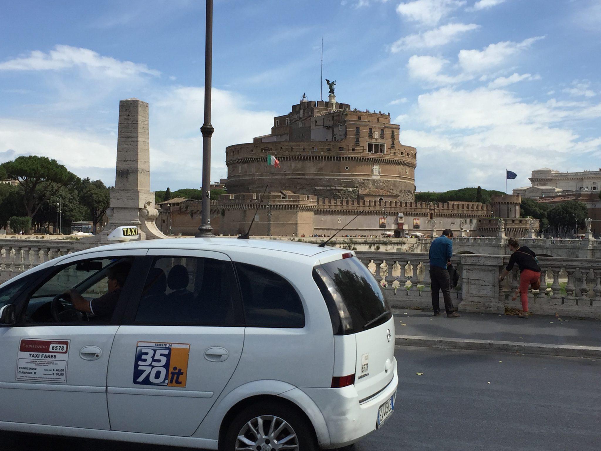 Taxi i Rom