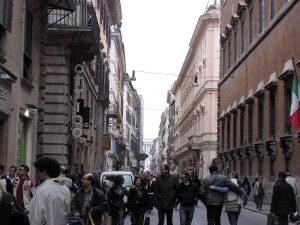 Promenera i Rom och se staden till fots