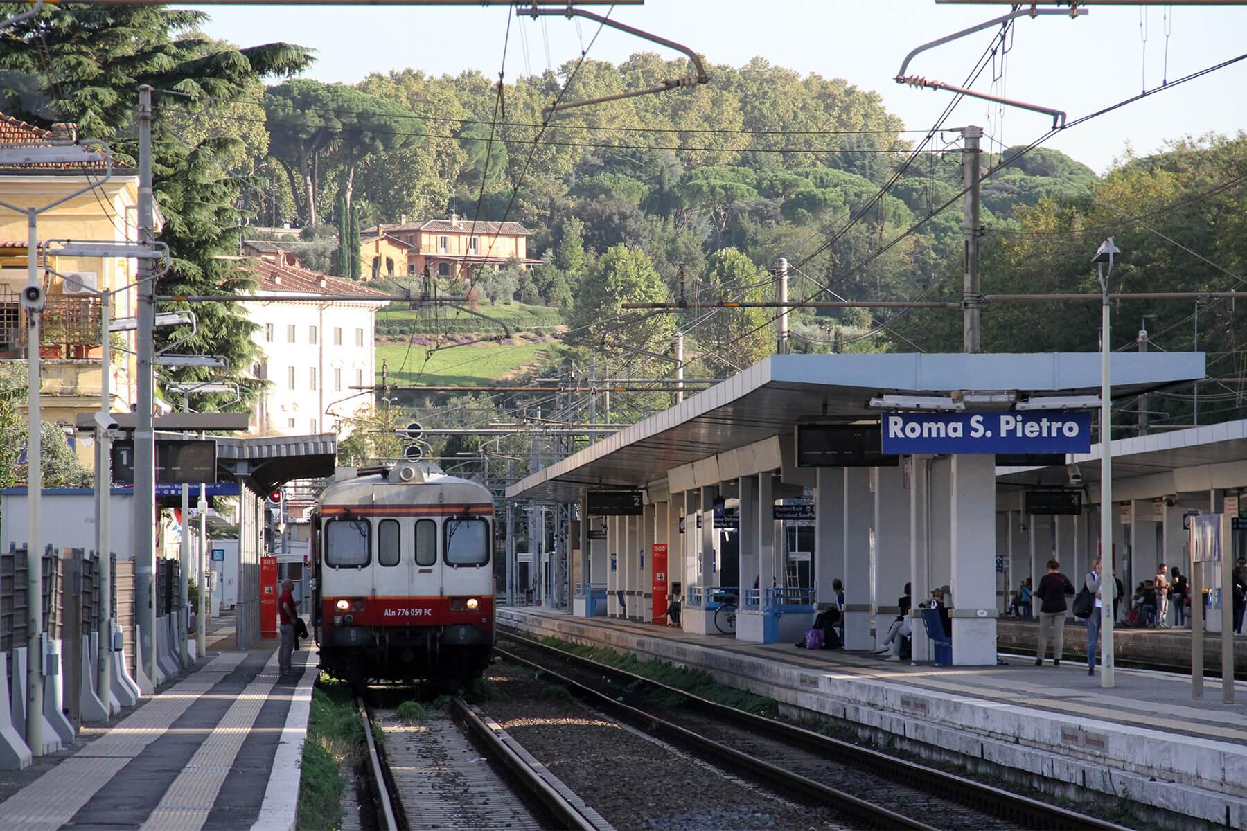 Tåg eller tågluffa till Rom