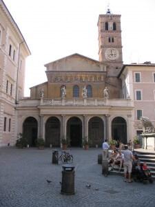 Kyrkan Santa Maria de Trastevere