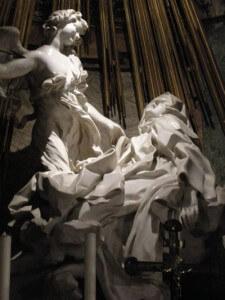 Den heliga Teresas extas av Bernini