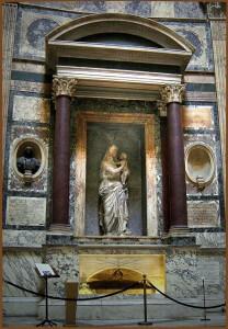 rafaels grav i Pantheon