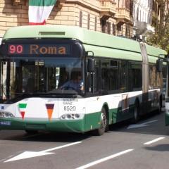 Åka buss i Rom