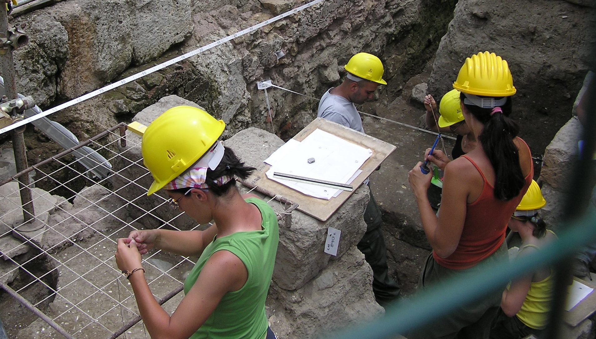 Utgrävning i Rom