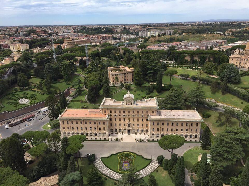 Inuti Vatikanstaten