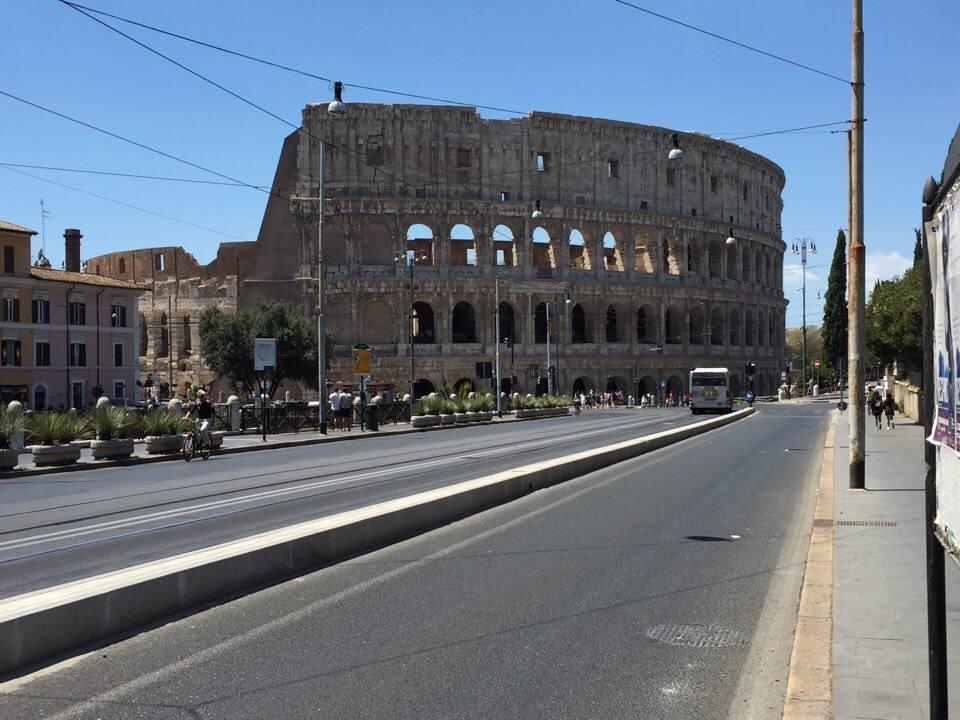 Colosseum från avstånd
