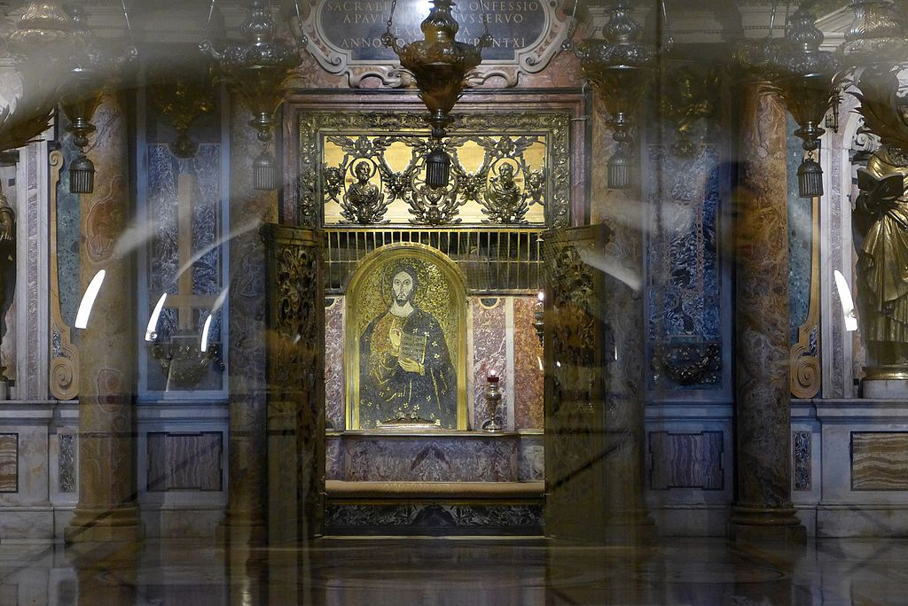 Palliumnischen i Peterskyrkan