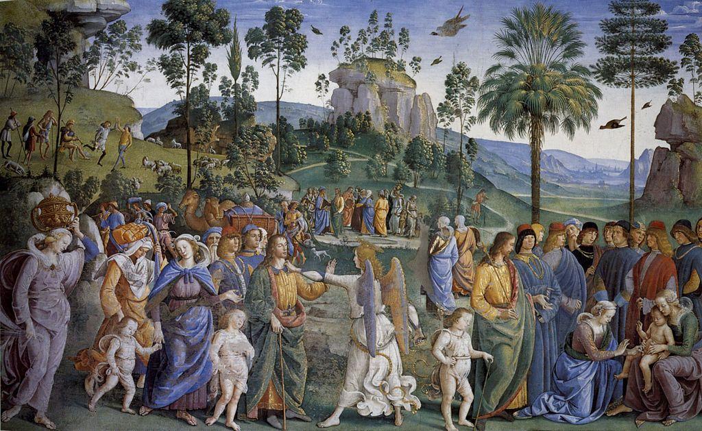 Moses lämnar Midian