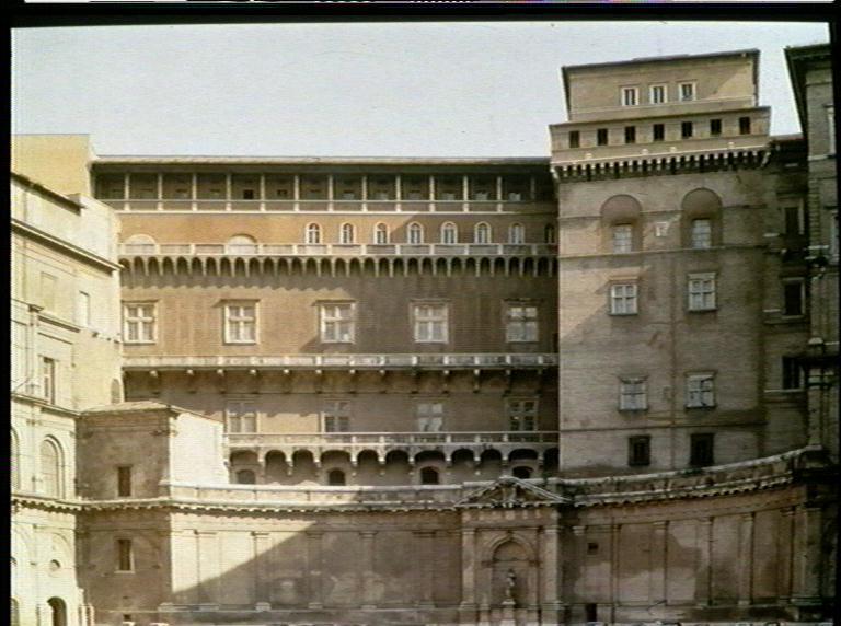 vatikanpalatset med torre borgia