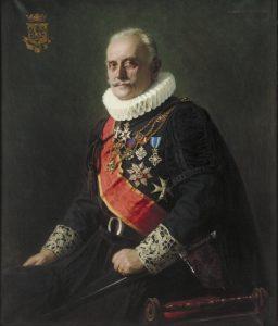 Den påvlige markisen och beundraren av Appartamento Borgia; Claes Lagergren.