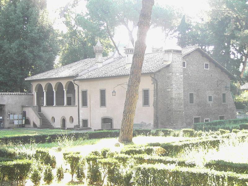 Kardinal Bessarions villa invid Porta San Sebastiano