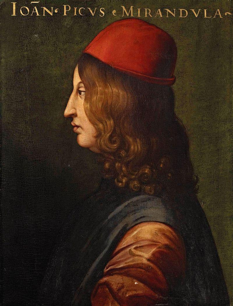 Giovanni Pico della Mirandola.