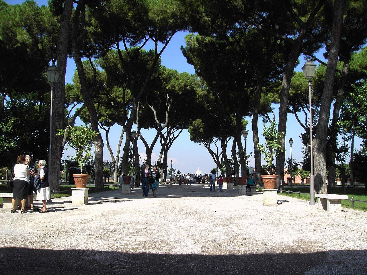 Apelsinträdgården Rom
