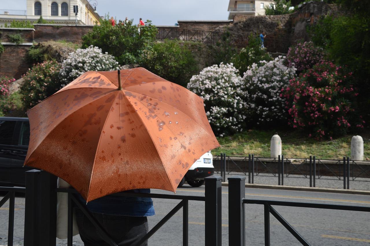 Rom i regnet
