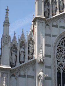 Del av fasaden