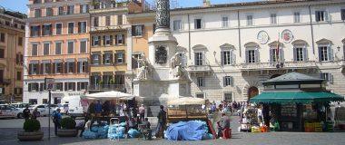 Kolonnens bas Piazza di Spagna