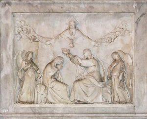 lief visande Marias kröning till himlarnas drottning