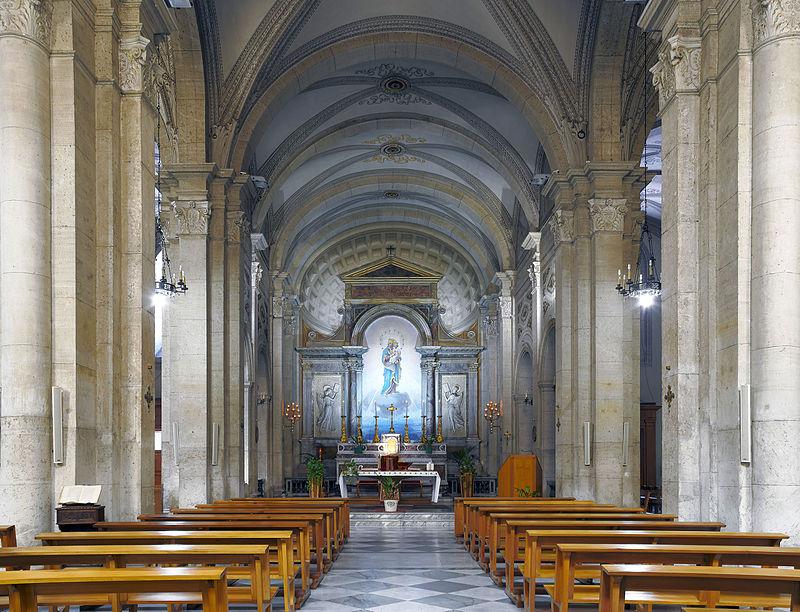 10 Mittskeppet Nostra Signora del Sacro Cuore