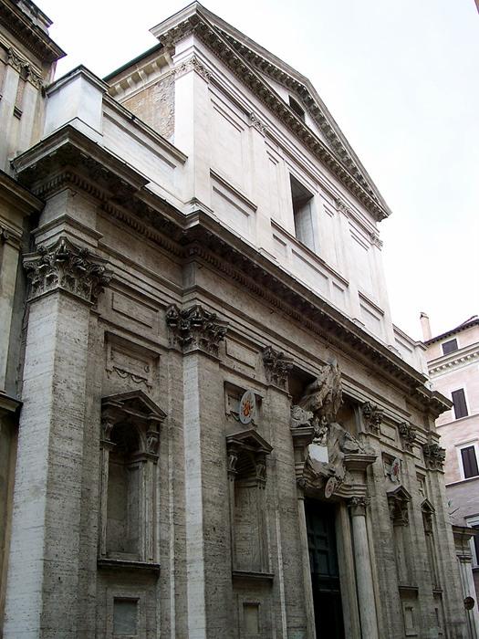 11 Santa Maria di Monserrato Fasad