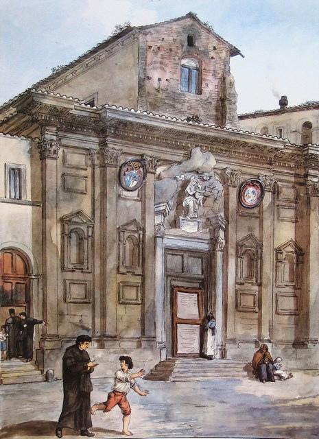 13 Achille_Pinelli_1834_Santa_Maria_in_Monserrato