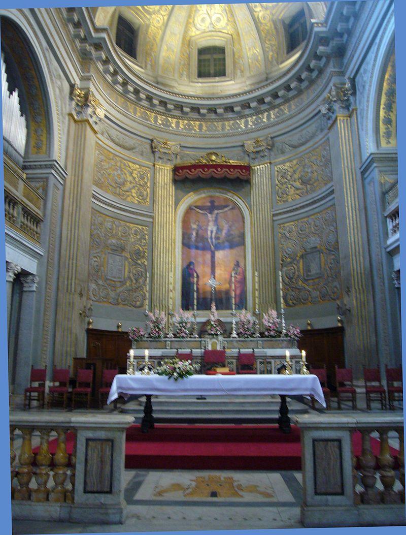14 Högaltaret Santa Maria di Monserrato