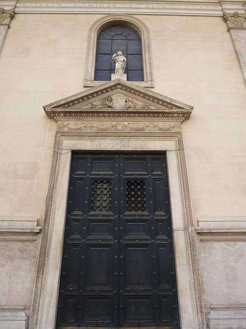 2San Giacomo huvudportalen från 1463
