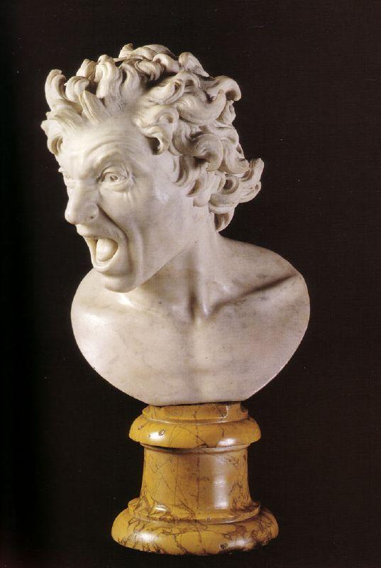 Gian-Lorenzo Bernini (1598-1680) Damned Soul – Rome, Spanish Embassy