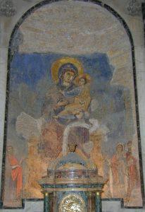 Madonnabild från år 1000